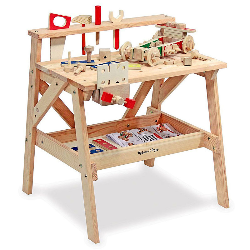 Melissa and Doug Wooden Workbench Review
