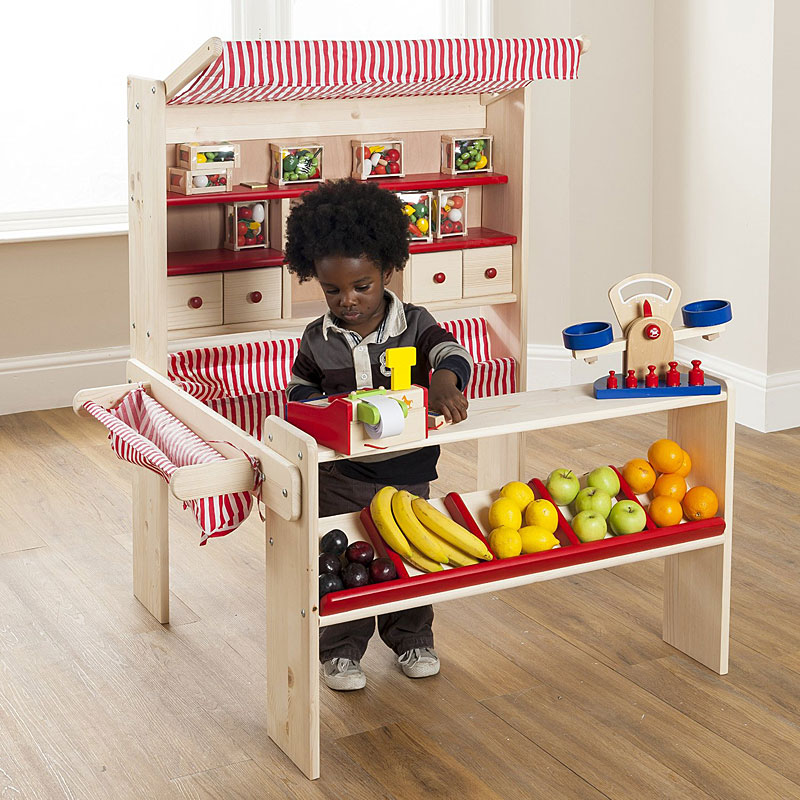 Lucy Wooden Market Stall and Play Shop Review
