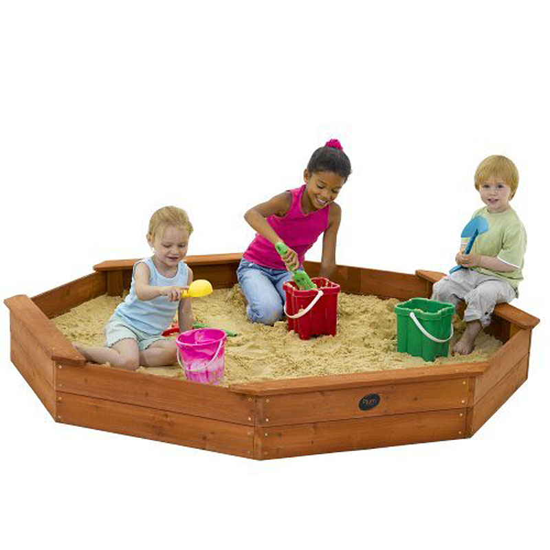 Plum® Wooden Sand Pit with cover