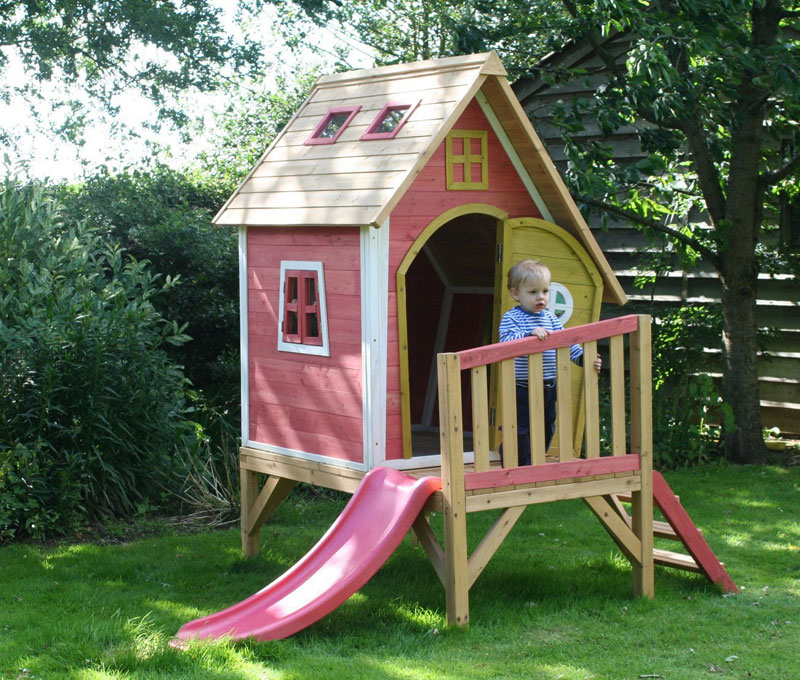 Garden Games Crooked Tower Wooden Play House Review