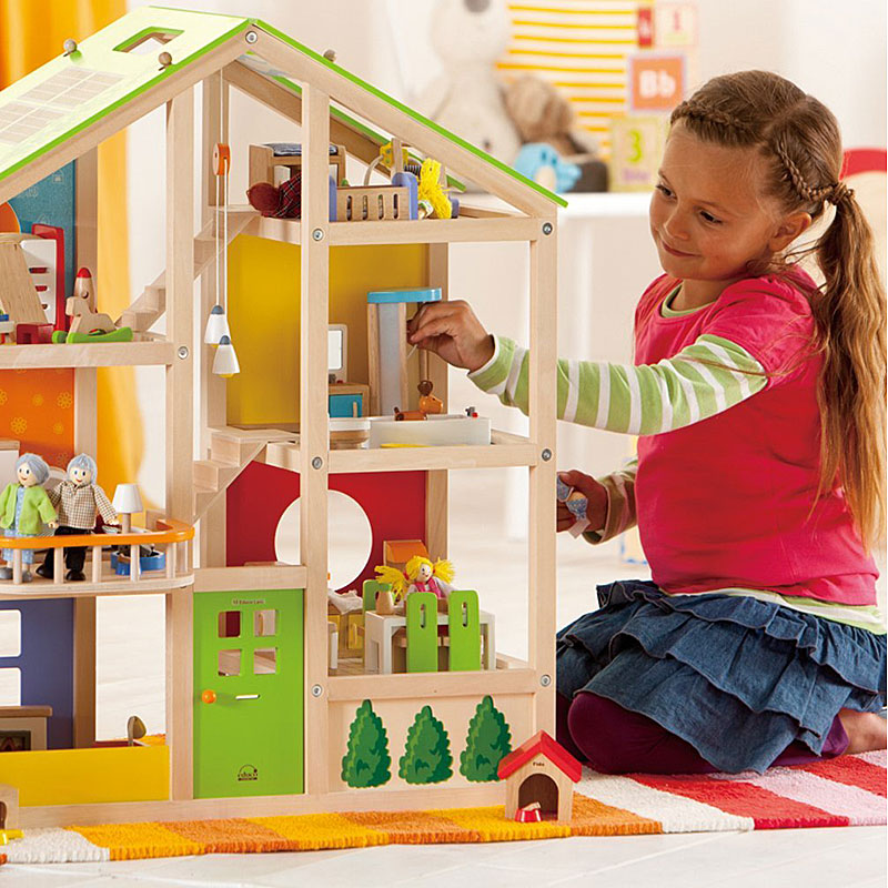 Hape All Season Furnished Wooden Dolls House Review Hape All Season