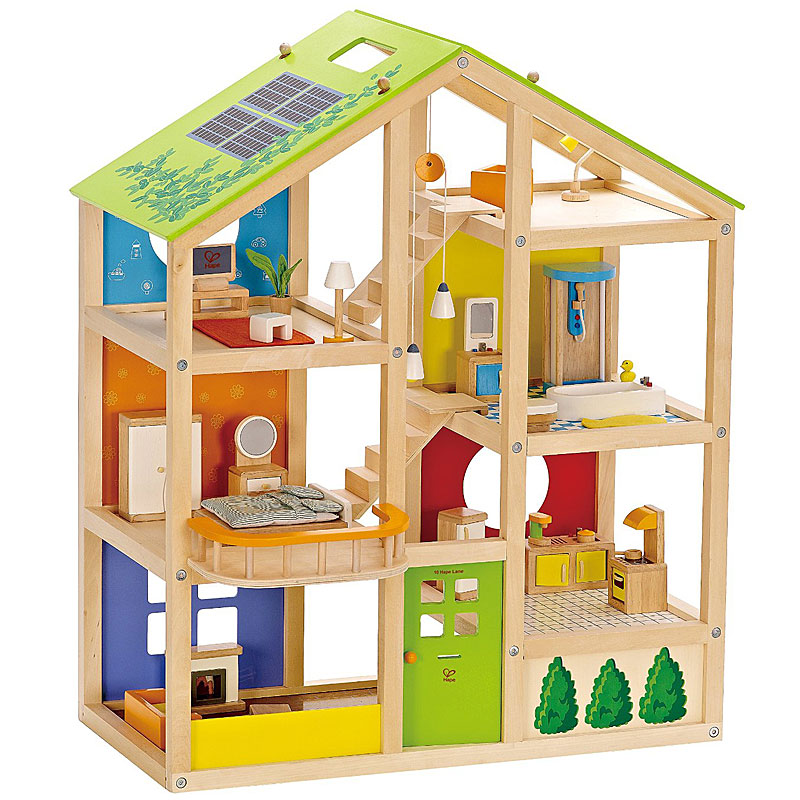 Hape All Season Furnished Wooden Doll's House Review