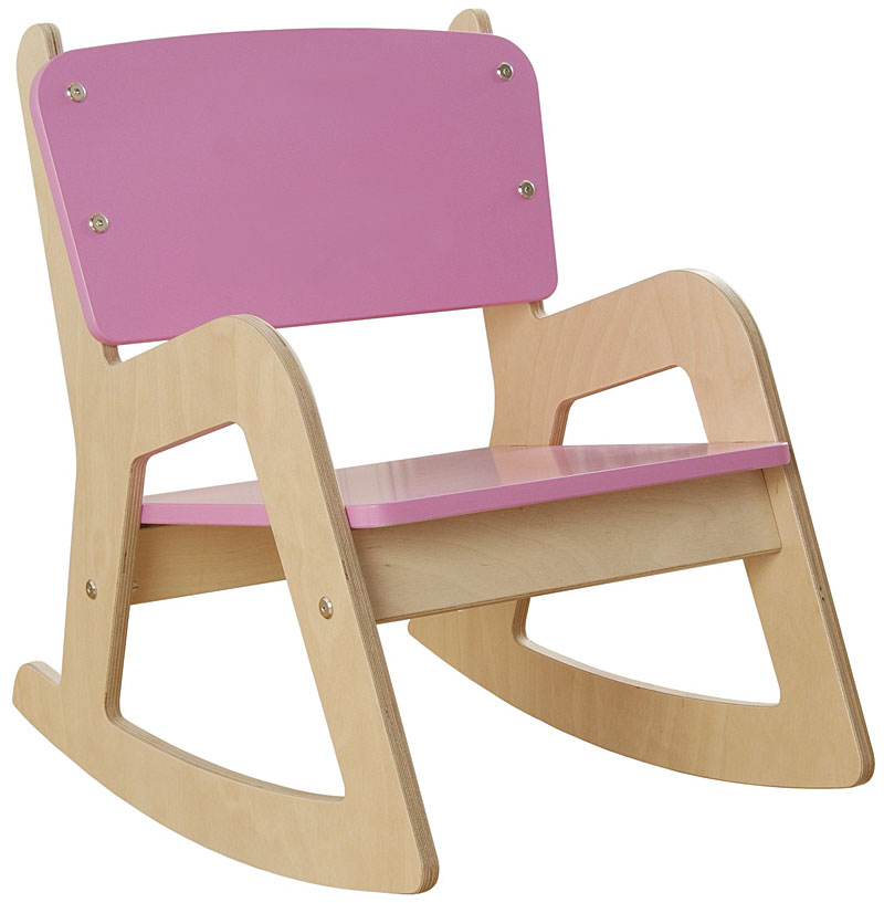 Millhouse Children's Wooden Rocking Chair (Pink)