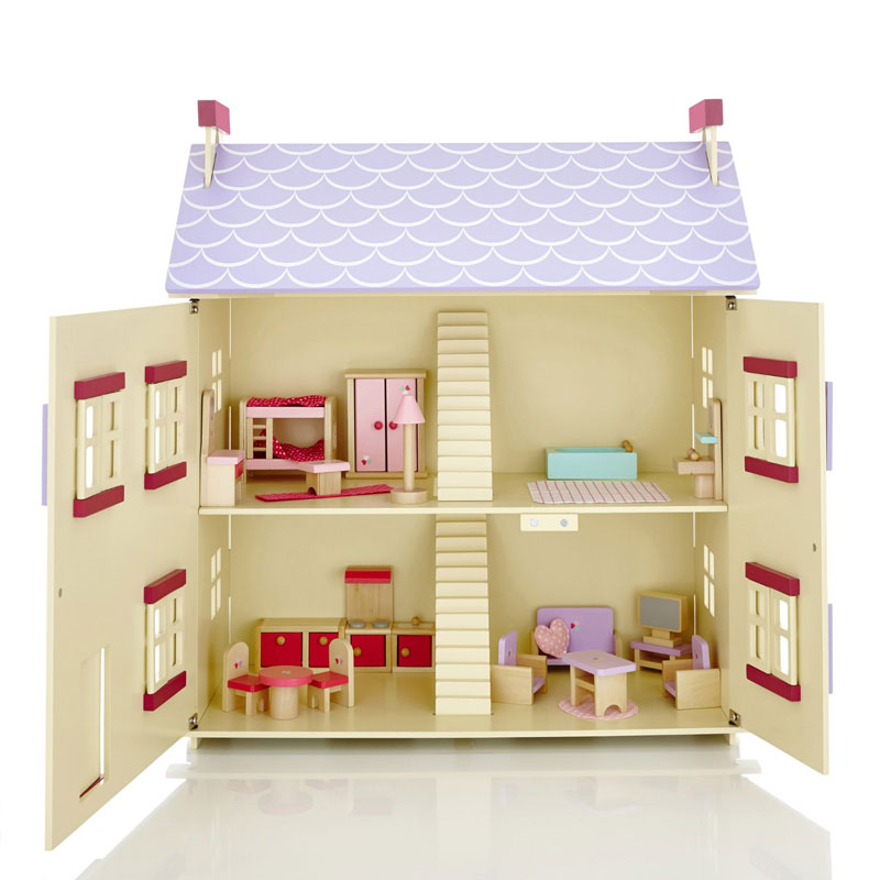 Molly Dolly Wooden Cottage Dolls' House Review