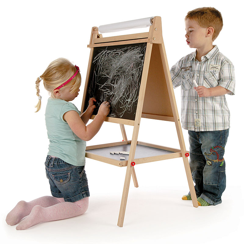 John Crane Tidlo Double Sided Wooden Easel and Chalkboard Review