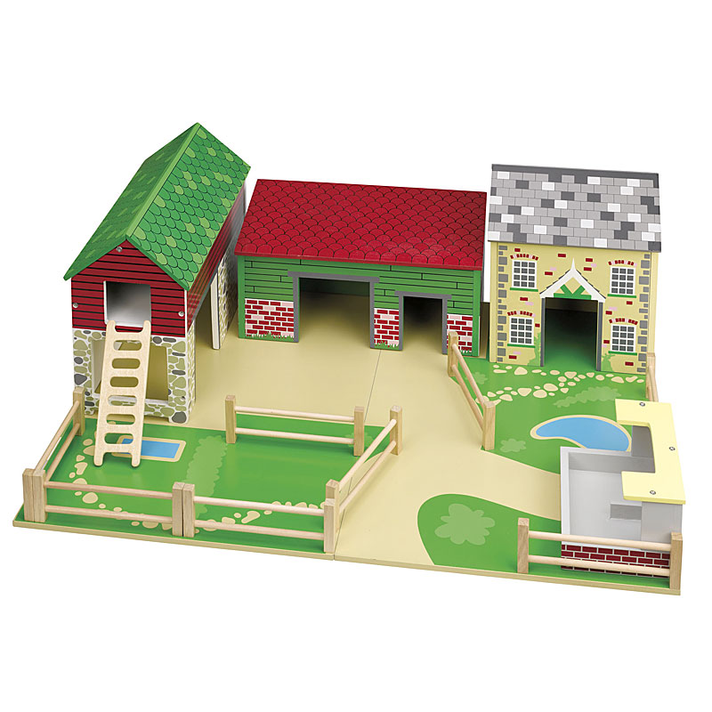 John Crane Tidlo Wooden Oldfield Farm Set Review