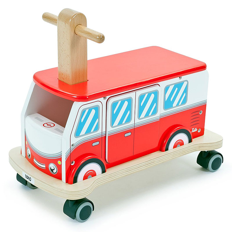 John Crane Tidlo Wooden Ride on Camper Van Review