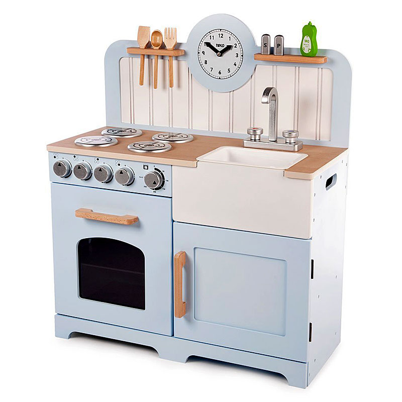 John Crane Tidlo Wooden Country Play Kitchen Review