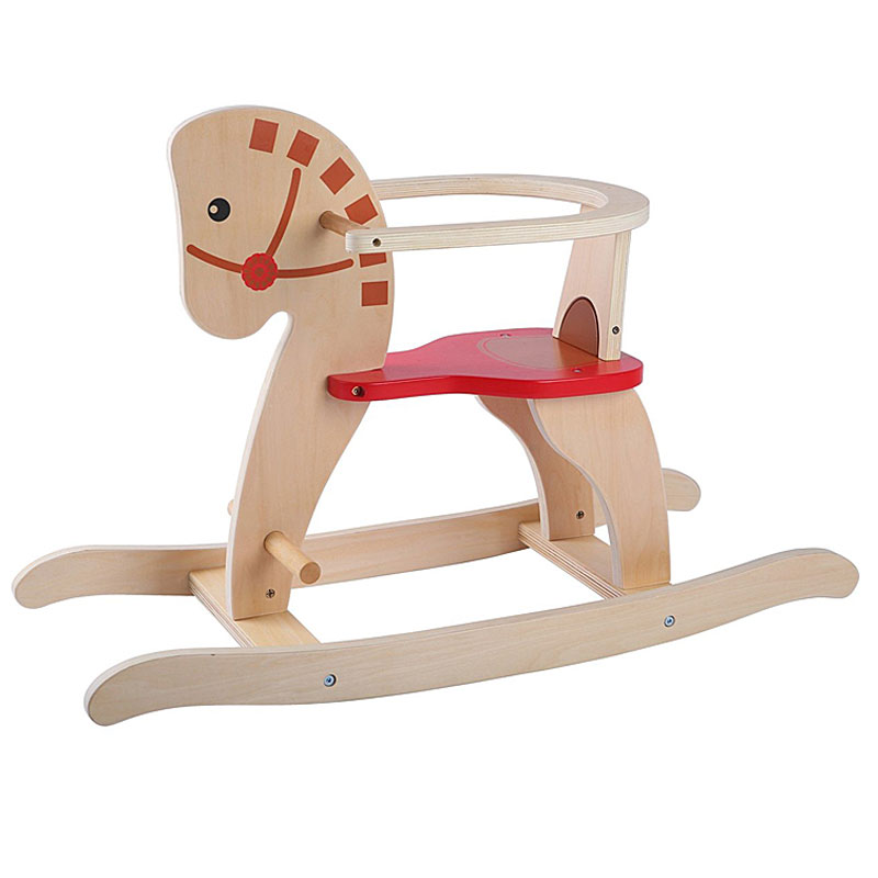 AK Sport Wooden Rocking Horse Chair