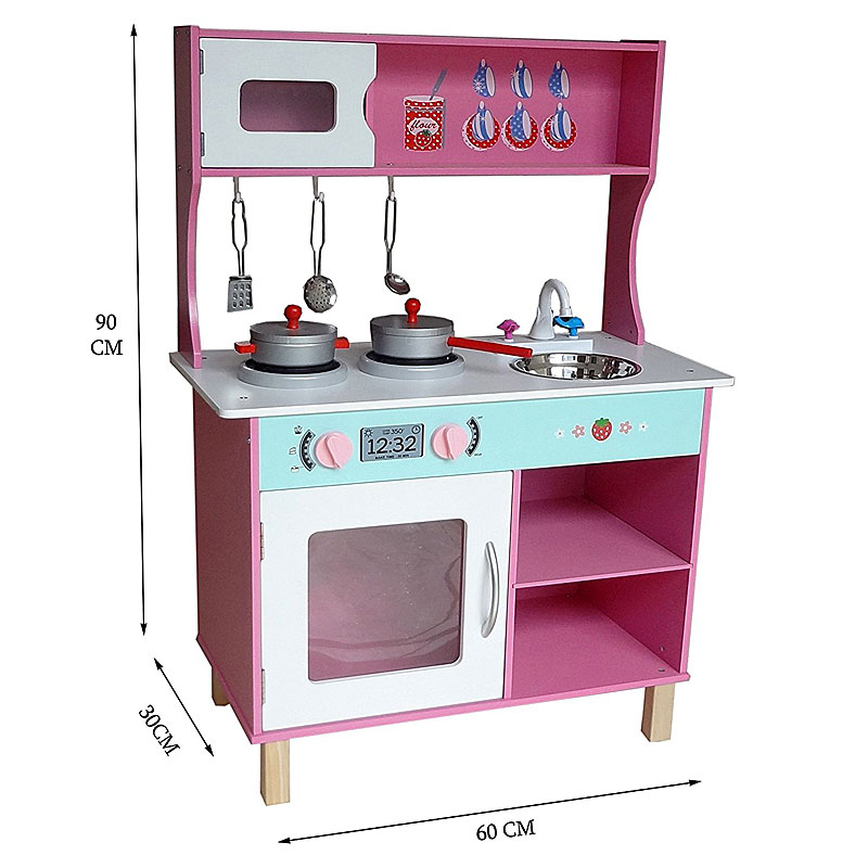 Bebe Style Large Modern Wooden Kitchen & Accessories