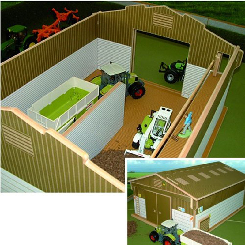 Brushwood Toy Farm Arable Shed BT8100 Play Farm Shed