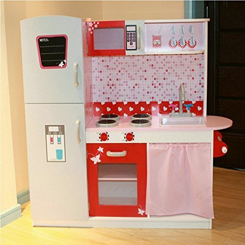 Eurotrade Wooden Large Childrens Play Kitchen Kids Toy Reviews