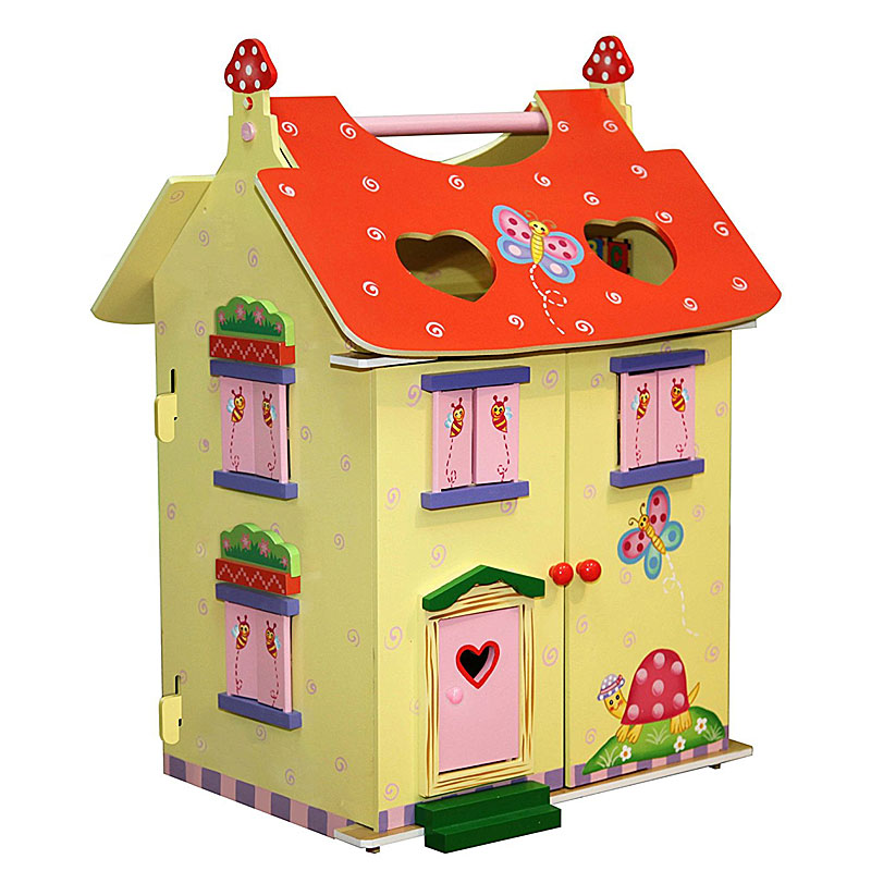Fantasy Fields by Teamson Magic Garden Wooden Dolls House