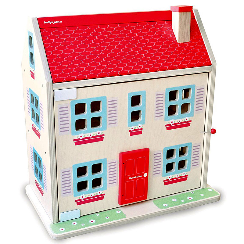 Hascombe Wooden Dolls House Sustainable Wood