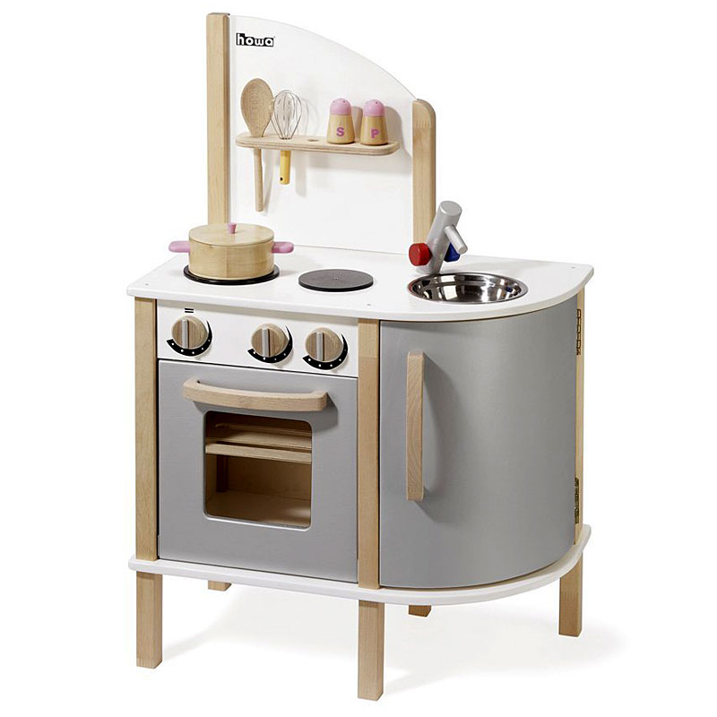 Howa 4816 Lovely, Stable, Wooden Toy Kitchen Play Kitchen