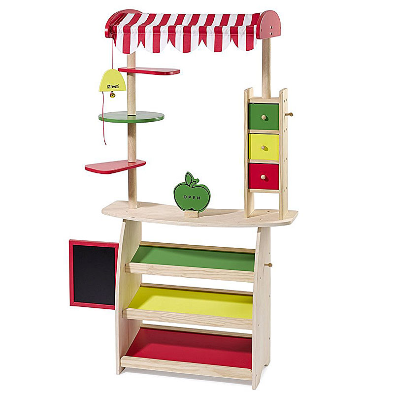 Howa Wooden Market Stall and Play Shop