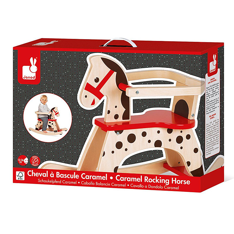 Janod Caramel Wooden Child's Rocking Horse Reviews