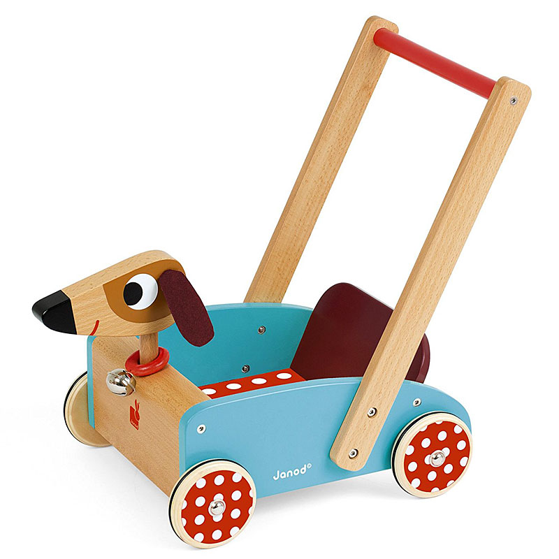 Janod J05995 Crazy Doggy Cart Baby Walker Reviews