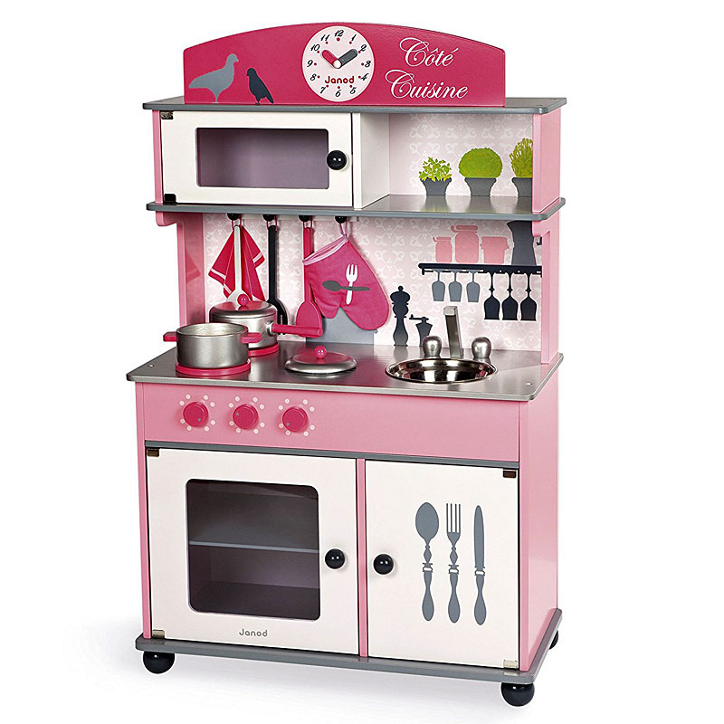 Janod J06565 Cote Cuisine Big Wooden Play Kitchen