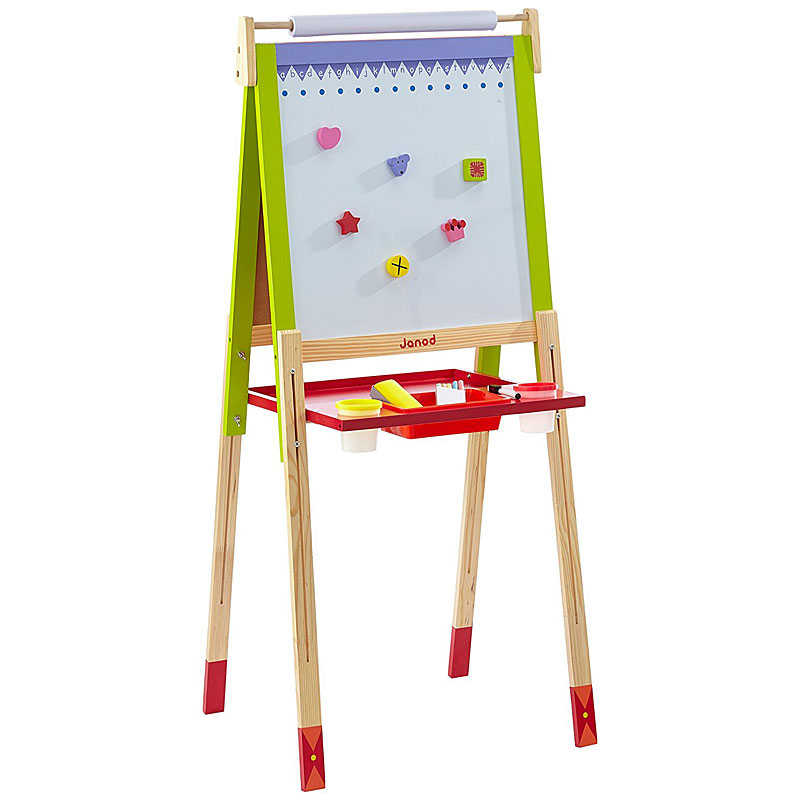 Janod Height Adjustable Wooden Child Easel Reviews