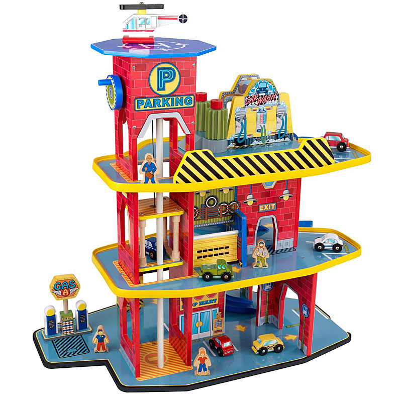 Kidkraft Deluxe Garage Set 17481 Activity Playset
