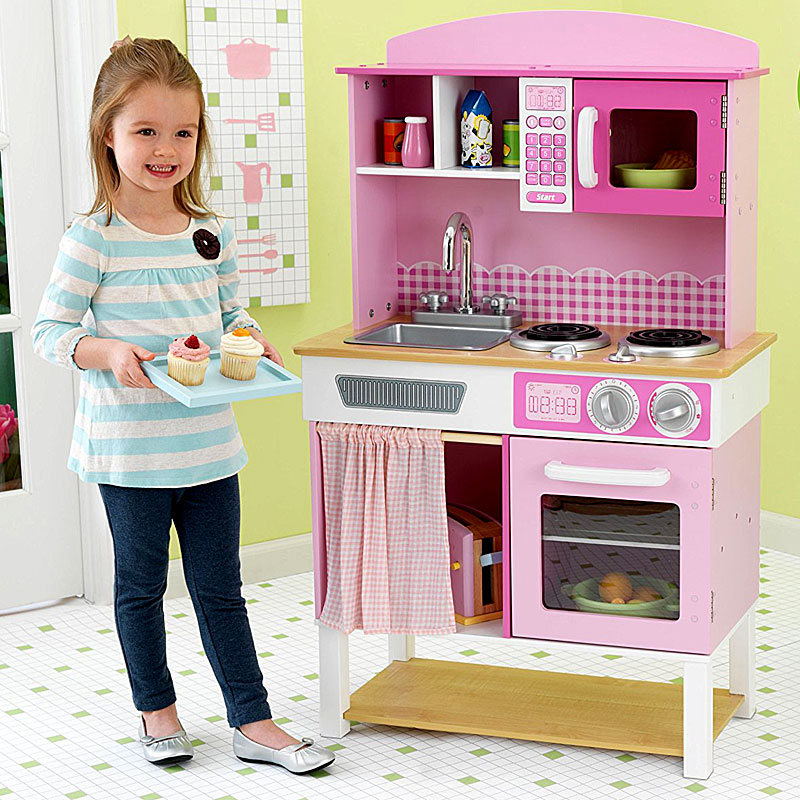 KidKraft Home Cooking Play Kitchen 53198 Reviews and Video