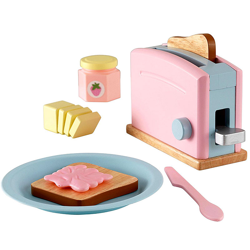 KidKraft - Toaster Set - Pastel - play kitchen toy