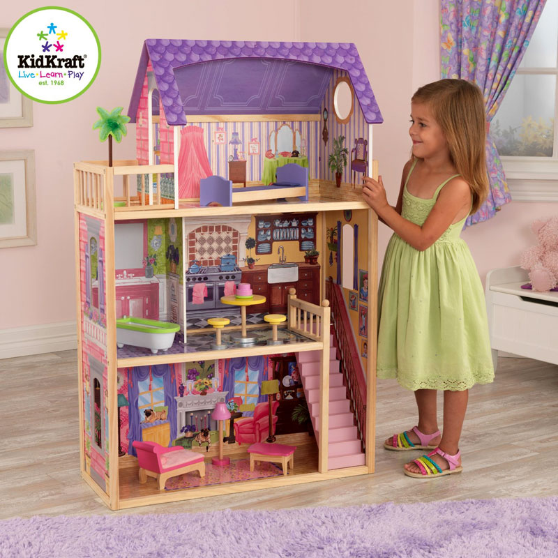 Kidkraft Kayla Wooden Dolls House with Reviews