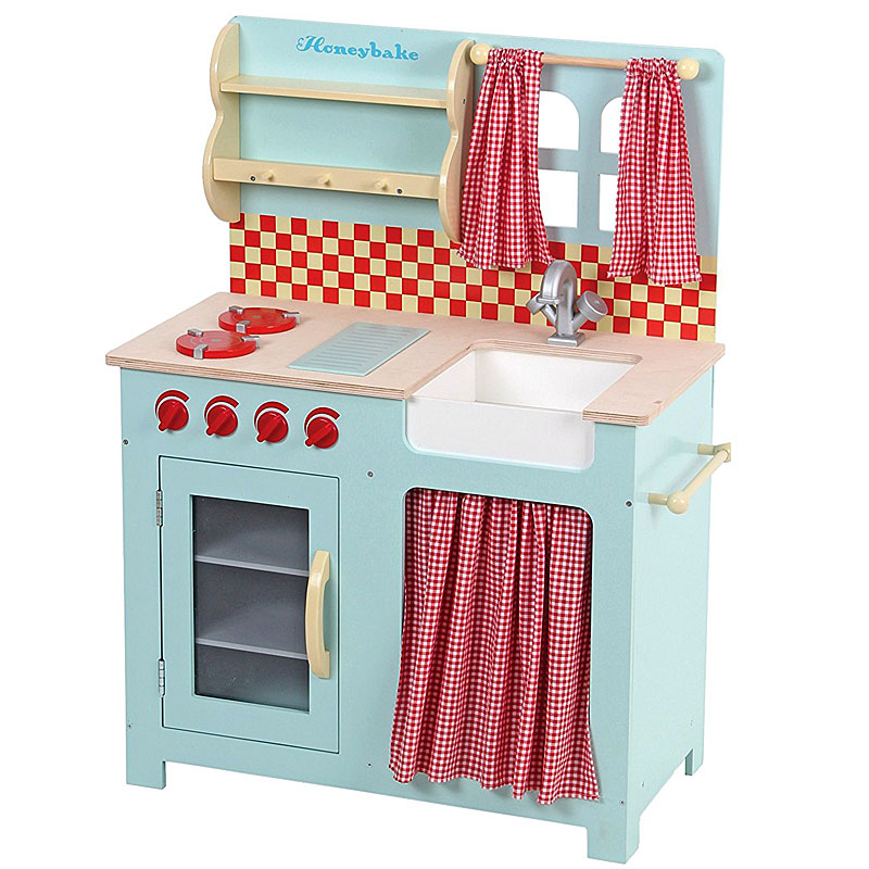 Le Toy Van Honeybake Honey Wooden Play Kitchen