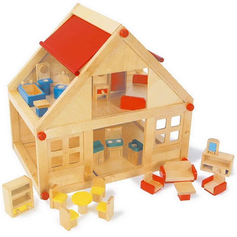 Legler Wooden Toy Doll's House Reviews