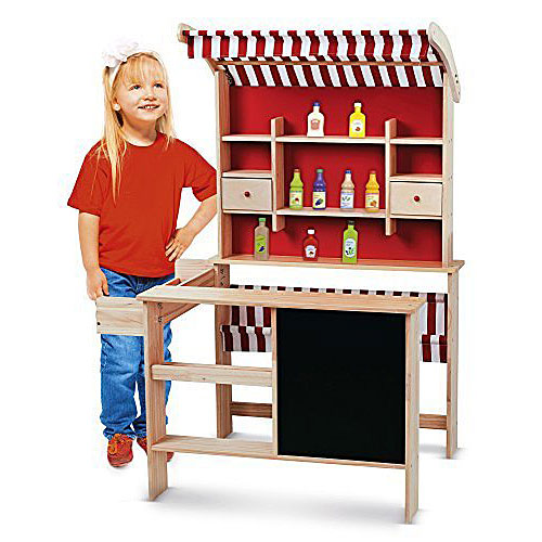 Leomark Wooden Play Shop Supermarket