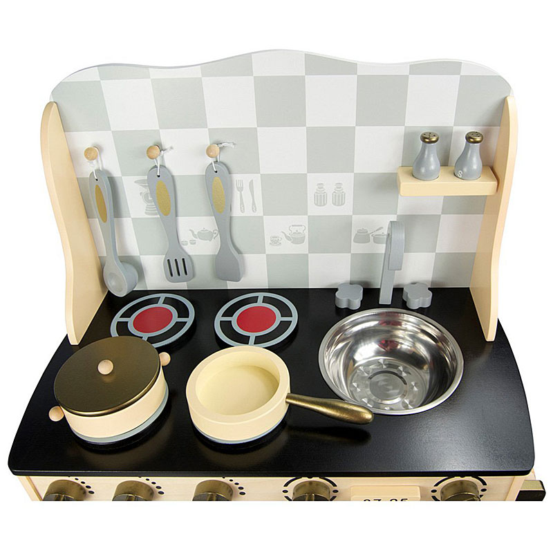 Leomark Vintage Wooden Play Kitchen Set Reviews