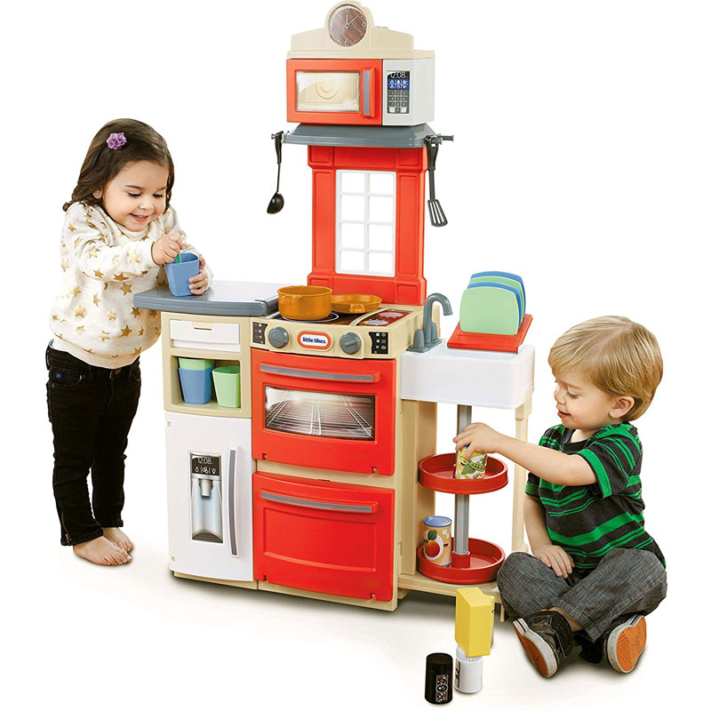 Little Tikes Cook 'n Store Kitchen (Red) Reviews