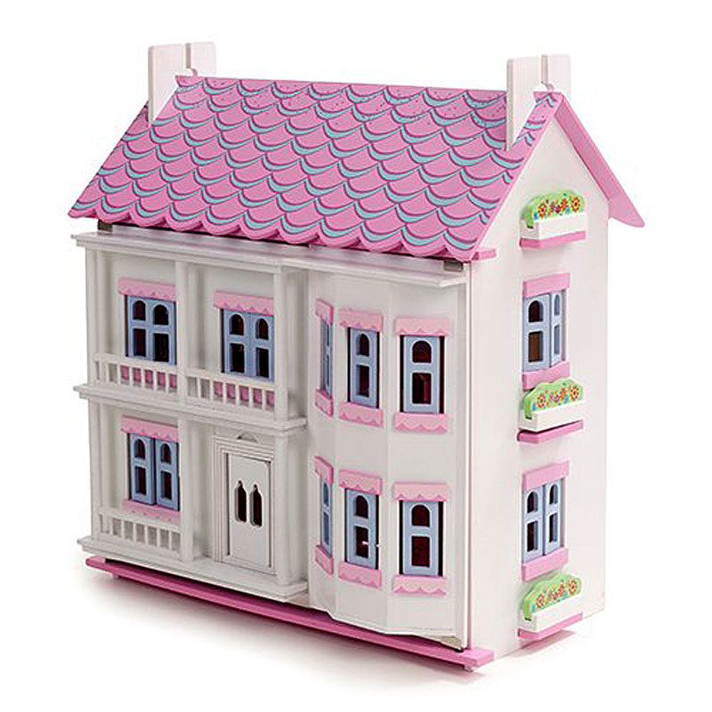 Mamakiddies White Georgian Wooden Doll's House Review