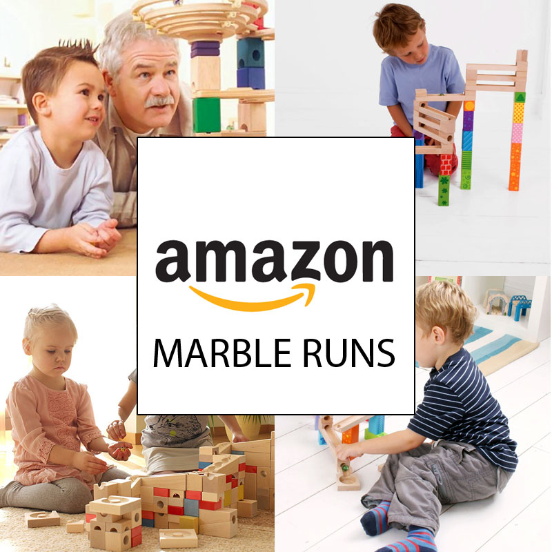 The Whole Range of Marble Runs at Amazon UK