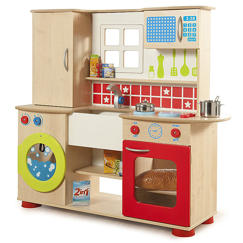 Millhouse Grantham Premium Wooden Play Kitchen RE60