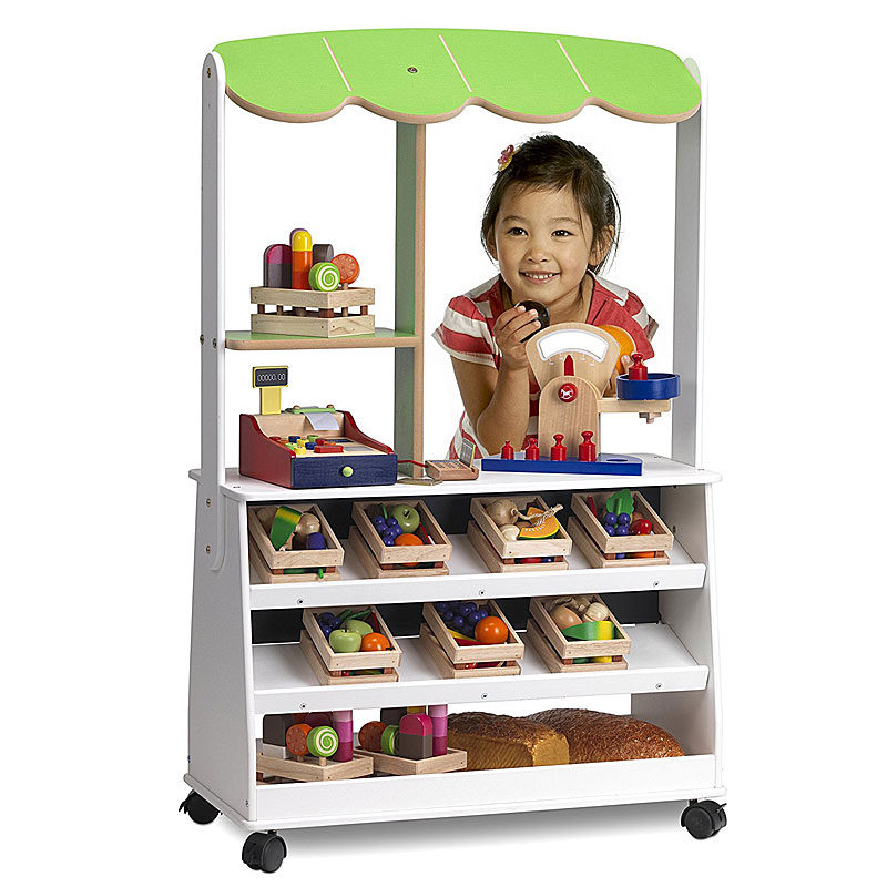 Millhouse Mobile Wooden Play Shop RE67 Toy Shop