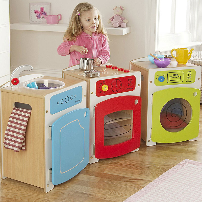Millhouse Wooden Chelsea Play Kitchen Set - PT184