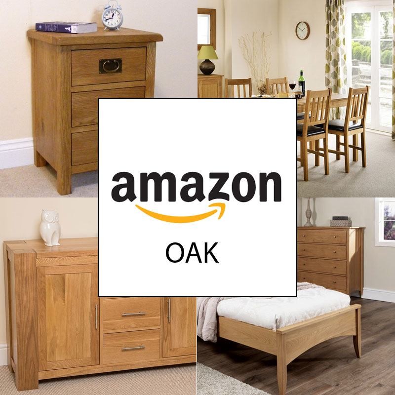 The Complete Range of Discounted Oak Furniture at Amazon UK