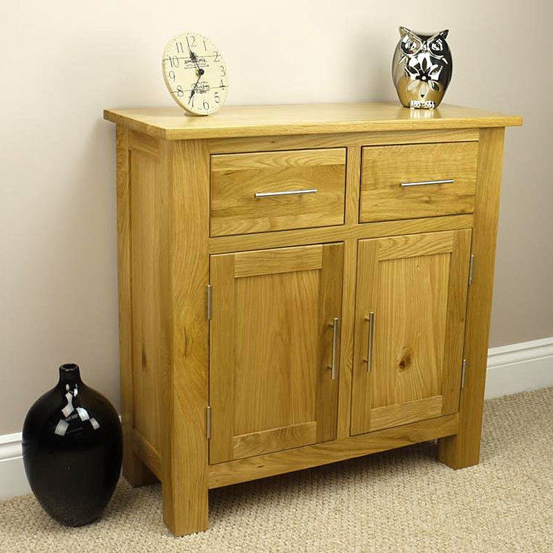 Oakland Solid Chunky Oak - Mini Sideboard