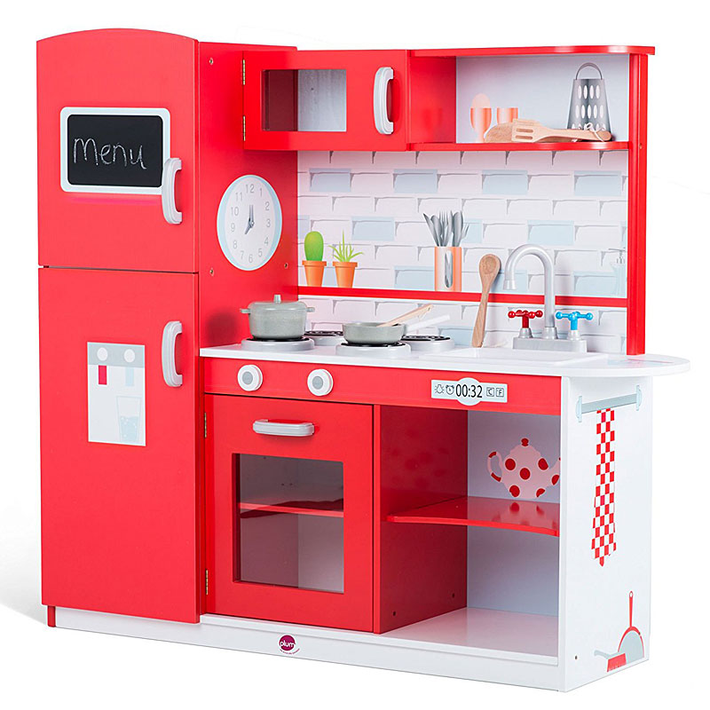 Plum Terrace Wooden Kitchen (Red Apple) Reviews