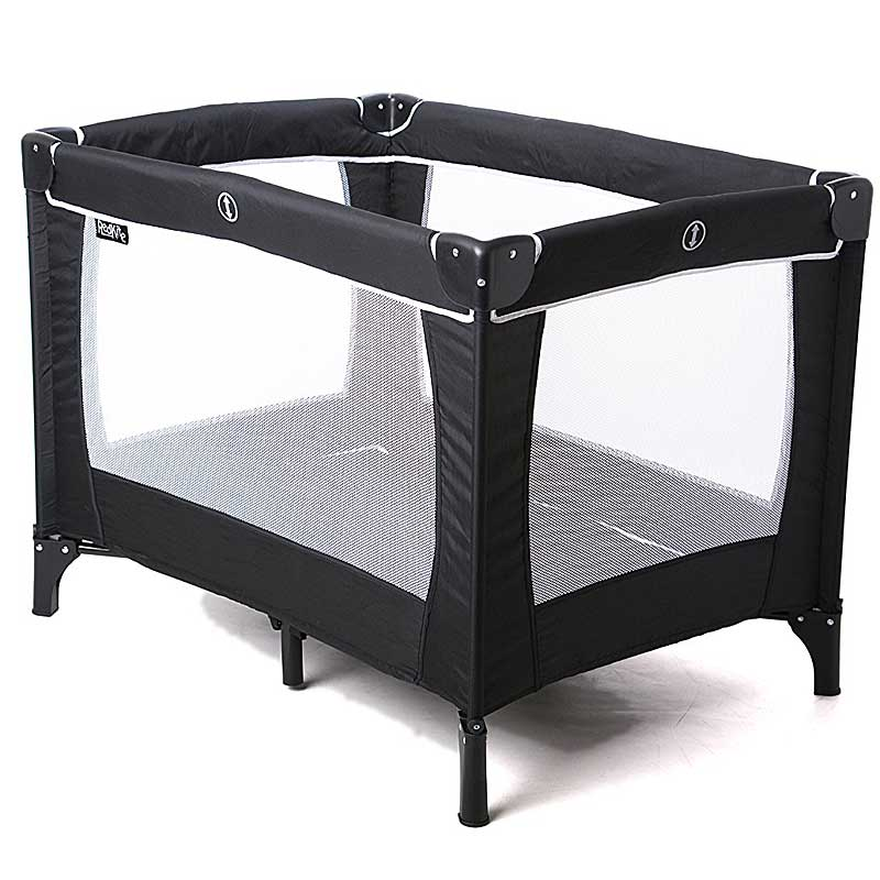 Red Kite Sleeptight Travel Cot (Black)