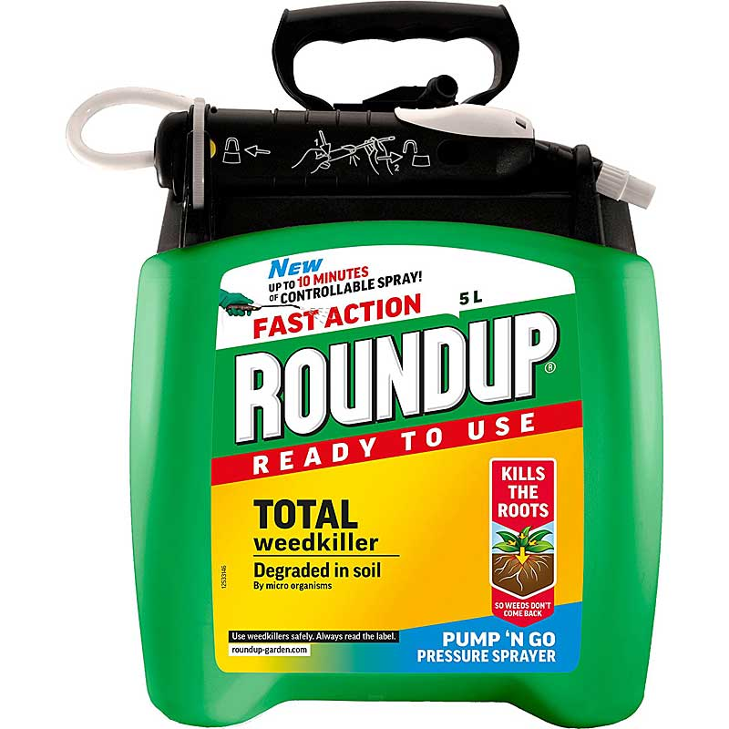 Roundup Fast Action Weedkiller Pump n Go Spray
