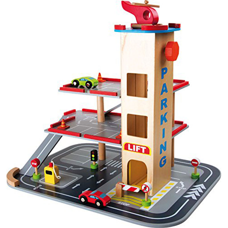 Small Foot Wooden Toy Play Garage