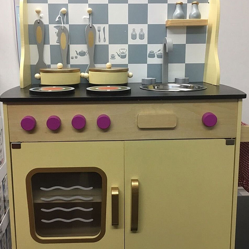 Supertoys Wooden Vintage Play Kitchen