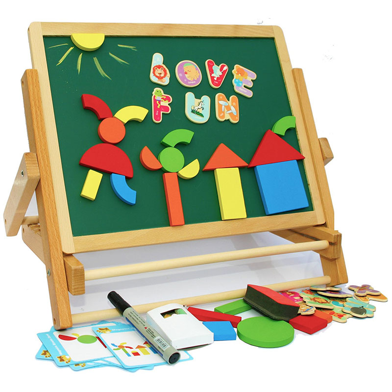 Toys of Oxford Wooden Easel - Foldable Table Top