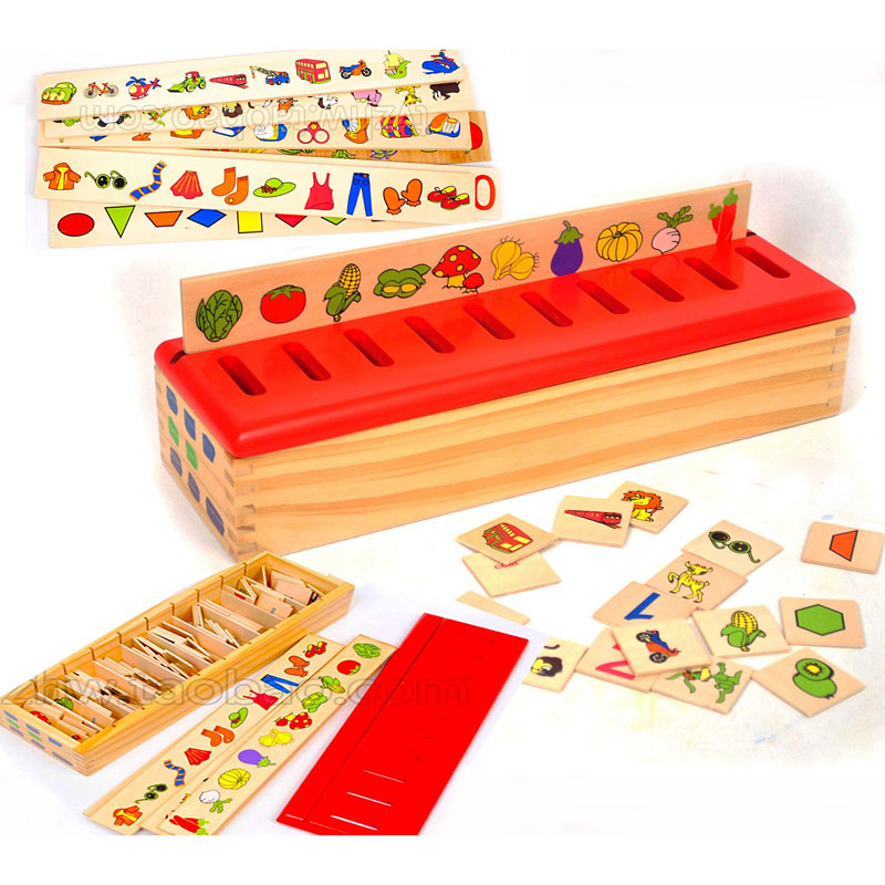 Toys of Wood Oxford Wooden Sorting Box