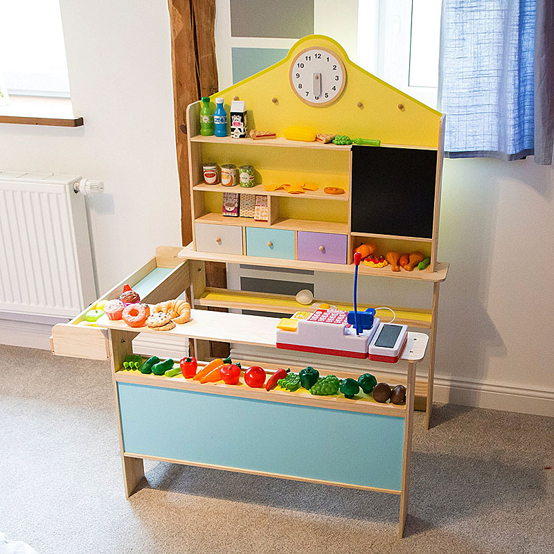 Ultrakidz Solid Wood Play Shop - Toy Shop for Children