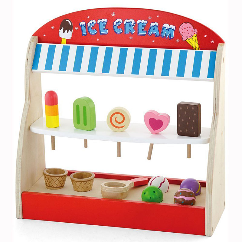 Viga Wooden Ice Cream Shop - Play Shop Reviews