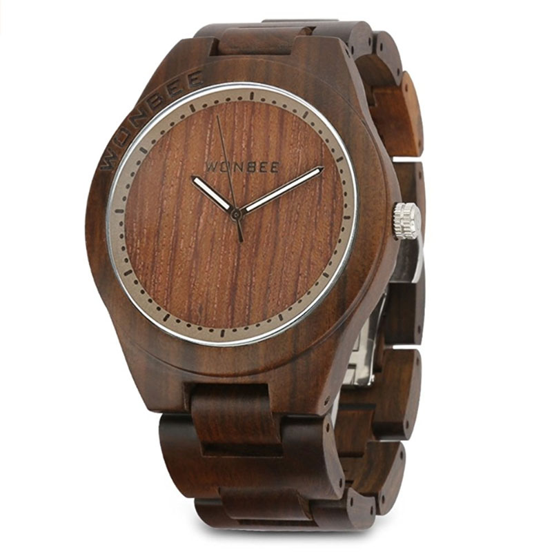 WONBEE Wooden Watch For Men and Women - ROCO-1